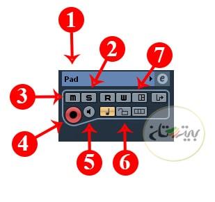 تنظیمات MIDI Track در کیوبیس