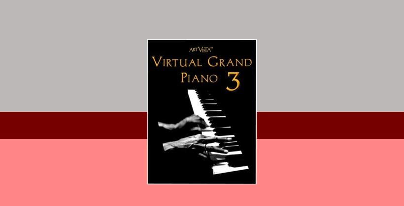 وی اس تی تحت کانتکت Art Vista Virtual Grand Piano 3