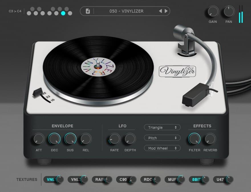 پلاگین Thenatan Vinylizer
