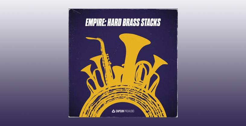 سمپل Capsun ProAudio Empire Hard Brass Stacks