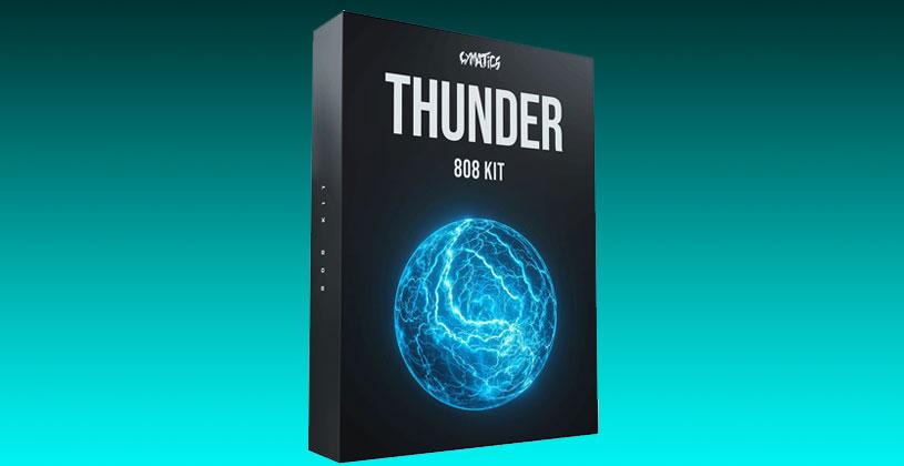 سمپل Cymatics Thunder 808 Kit