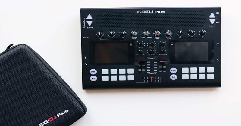 دی جی کنترلر مانستر مدل GO DJ Plus