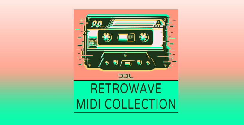 سمپل Deep Data Loops Retrowave Midi Collection