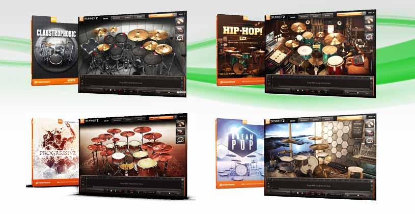 دانلود اکسپنشن Ez Drummer 2