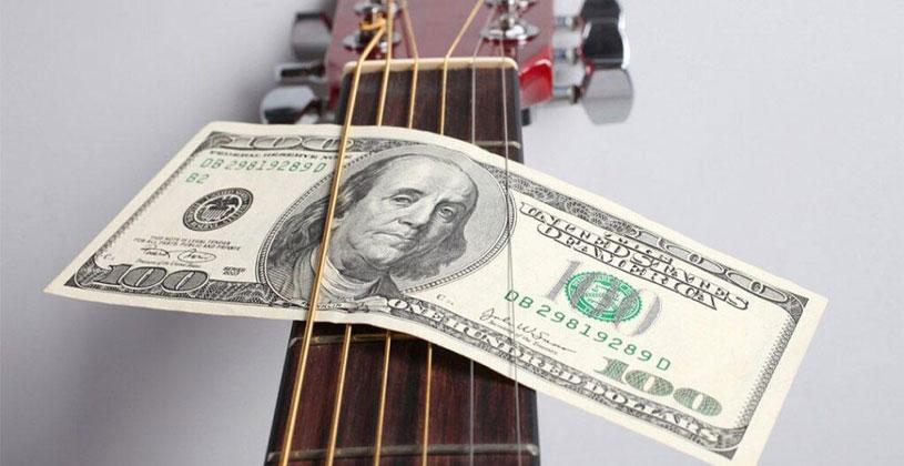 کسب درآمد از موسیقی