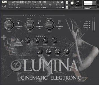 وی اس تی تحت کانتکت Famous Audio Lumina Cinematic Electronic