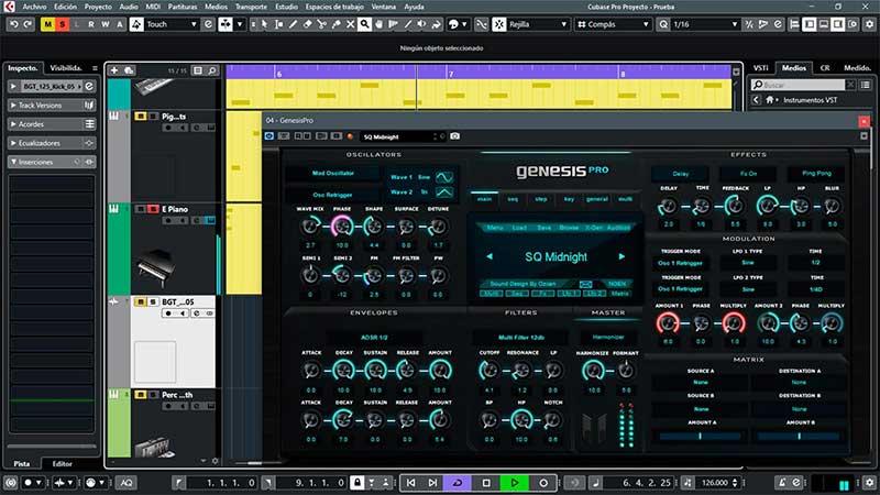 وی اس تی Genesis Pro