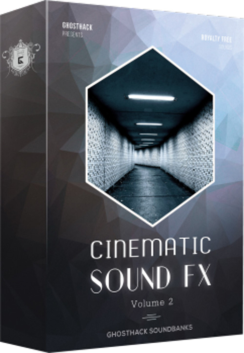 سمپل آهنگسازی Ghosthack Sounds Cinematic Sound FX