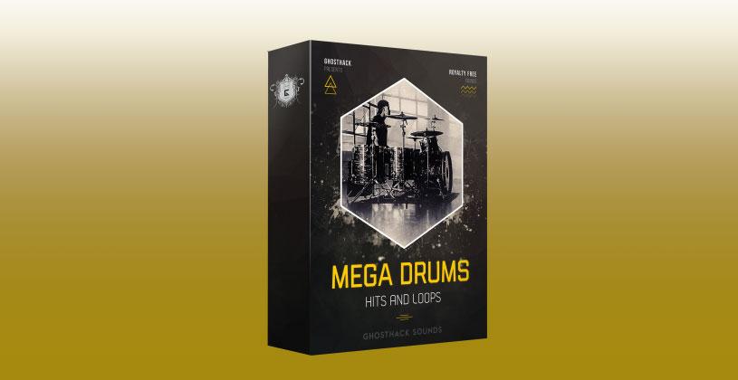 سمپل درام Ghosthack Sounds Mega Drums
