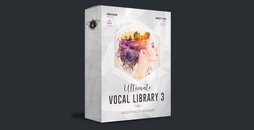 سمپل Ghosthack Ultimate Vocal Library 3 Teaser Pack