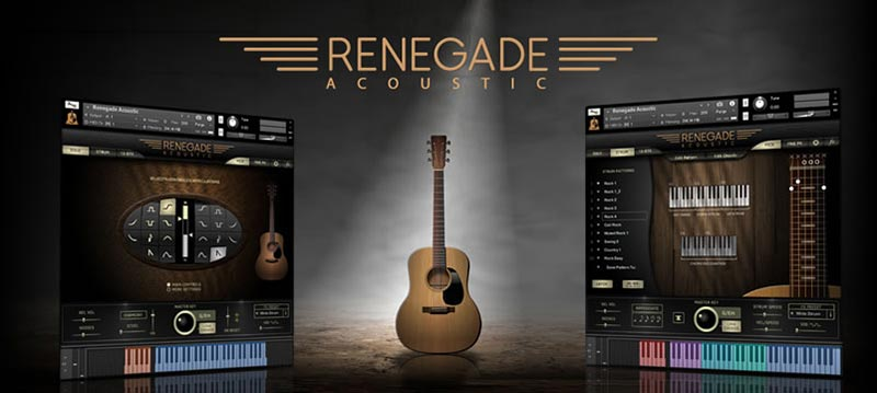 وی اس تی Indiginus Renegade Acoustic Guitar