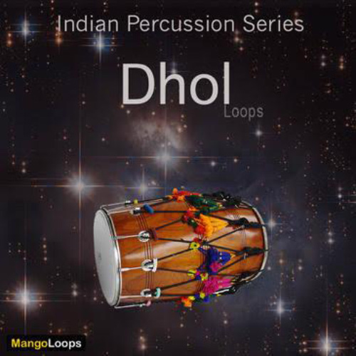 سمپل دهل Mango Loops Indian Percussion Series Dhol