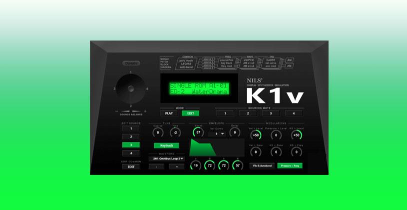 وی اس تی سینتی سایزر Nils Schneider Kawai K1 VST