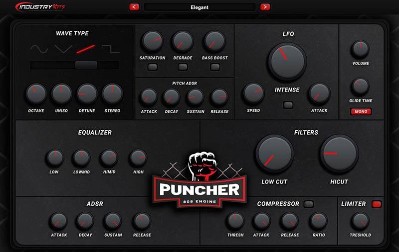 وی اس تی بیس رپ IndustryKits Puncher