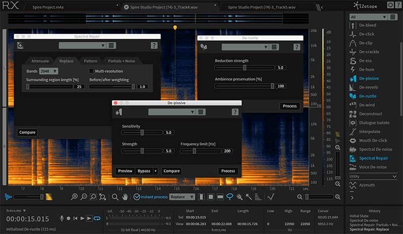 دانلود پلاگین ایزوتوپ iZotope RX 6 Audio Editor Advanced