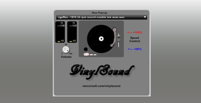 وی اس تی Rancorsoft VinylSound VST