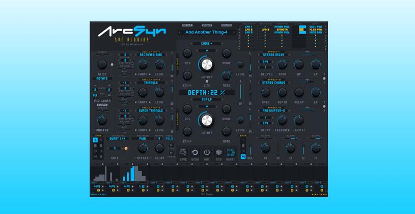 سینتی سایزر SPC Plugins ArcSyn Synthesizer