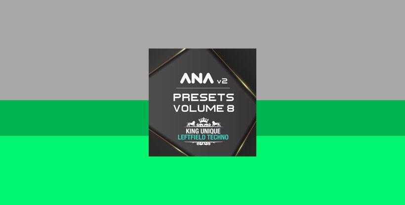 پریست وی اس تی آنا Sonic Academy ANA 2 Presets Vol 8