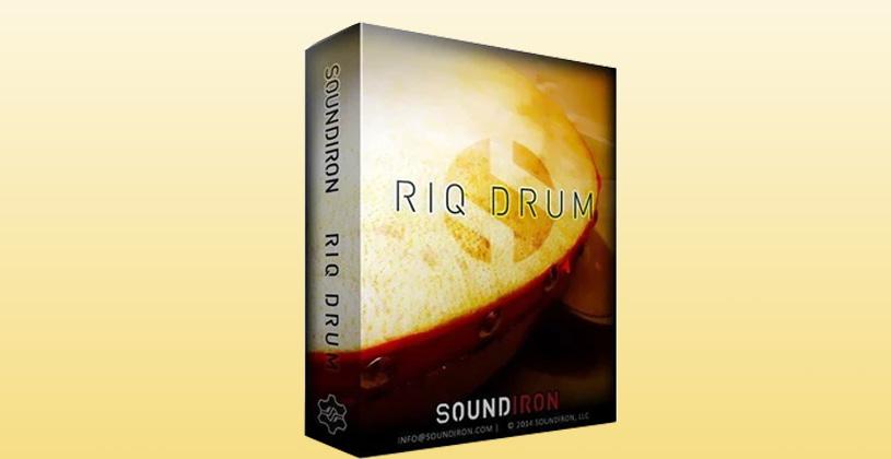 وی اس تی تحت کانتکت Soundiron Riq Drum