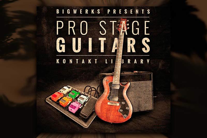 وی اس تی تحت کانتکت BigWerks ProStage Guitars