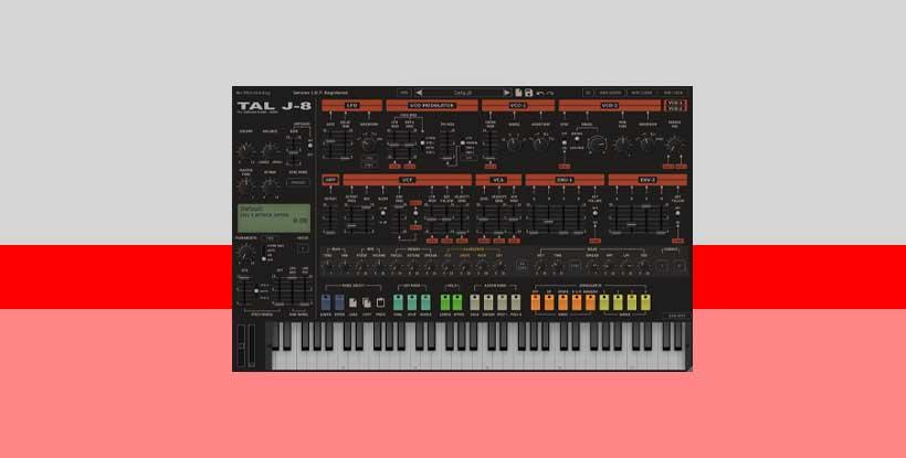 وی اس تی سینتی سایزر TAL Software TAL J-8