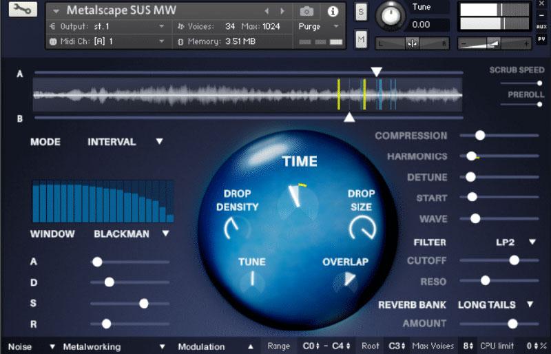 وی اس تی تحت کانتکت FluffyAudio TimeDrops