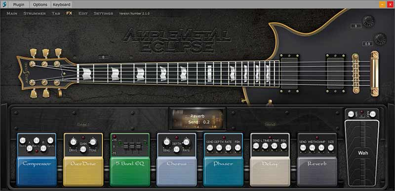 وی اس تی گیتار الکتریک ample sound AME