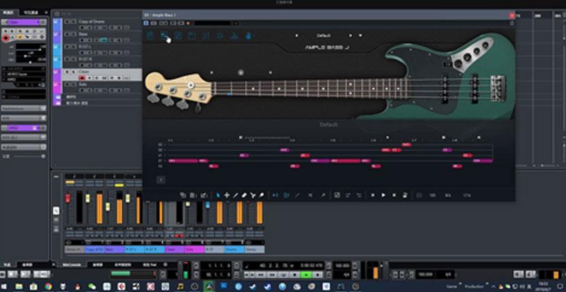وی اس تی Ample Sound Ample Bass J III