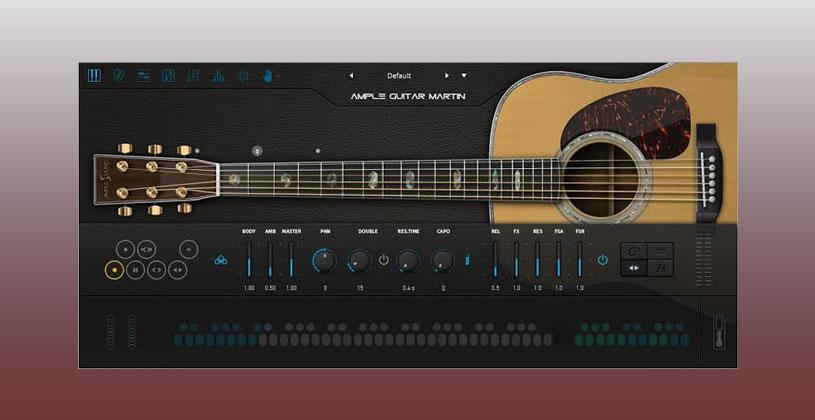 وی اس تی گیتار Ample Sound Ample Guitar M III