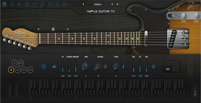 وی اس تی گیتار Ample Sound Ample Guitar TC