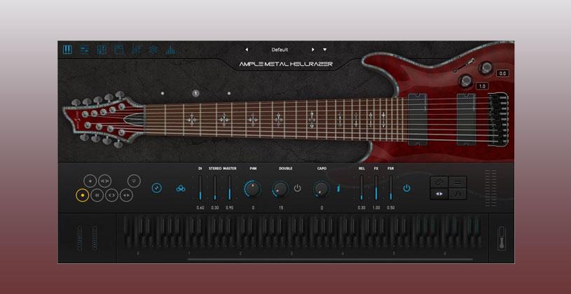 دانلود وی اس تی گیتار الکتریک Ample Sound Ample Metal Hellrazer