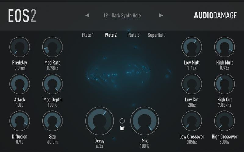 دانلود پلاگین ریورب Audio Damage EOS | دانلود پلاگین Audio Damage EOS