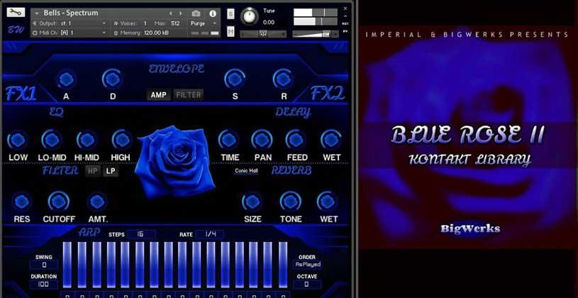 دانلود وی اس تی تحت کانتکت BigWerks Blue Rose