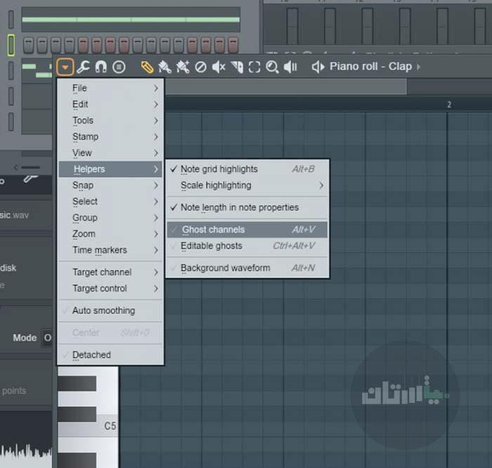 تصویر اول از ابزار مفید در اف ال استودیو
