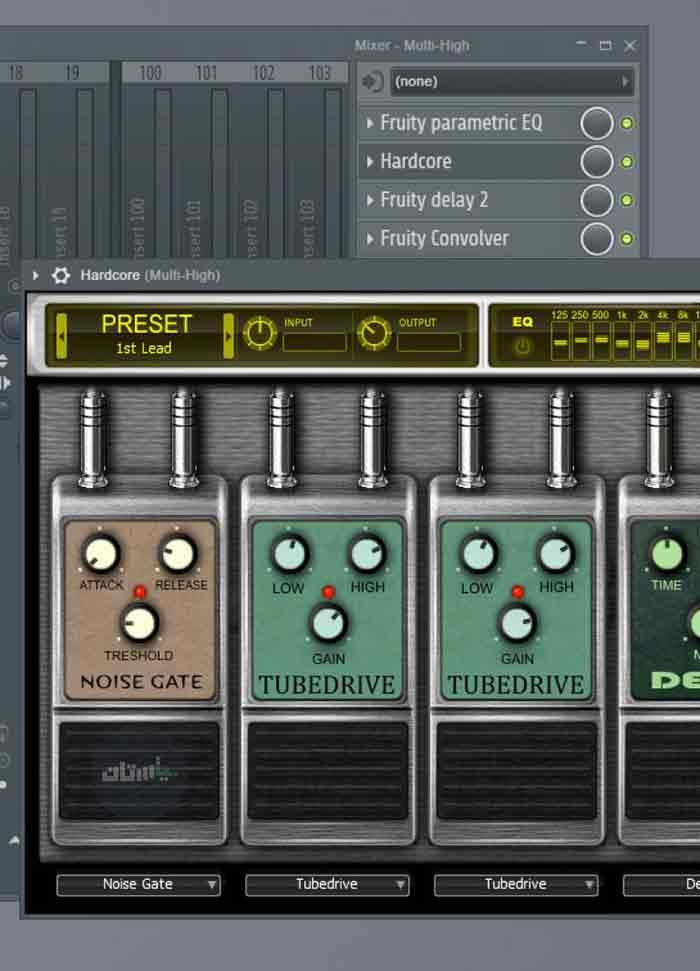 افکت HardCore در اف ال استودیو