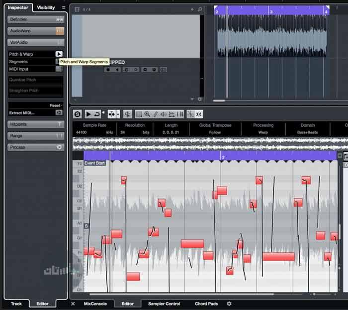 فرایند فالش گیری صدا در کیوبیس