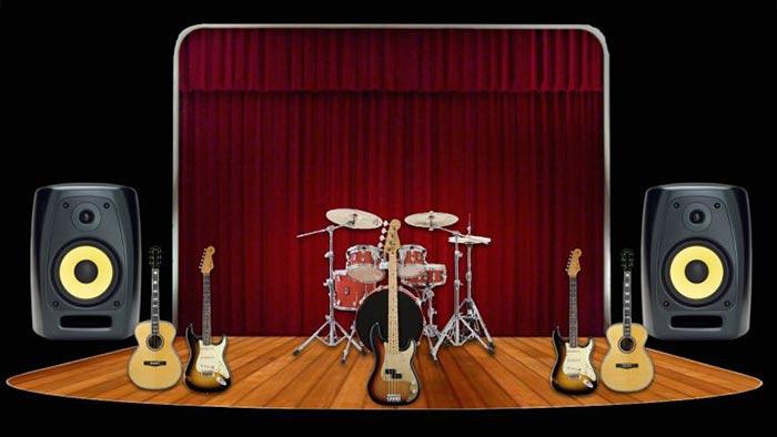 میکس گیتار آکوستیک و الکتریک