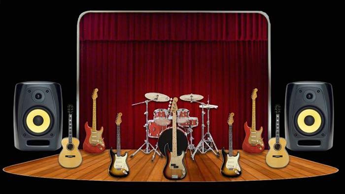 جایگذاری صدای گیتار