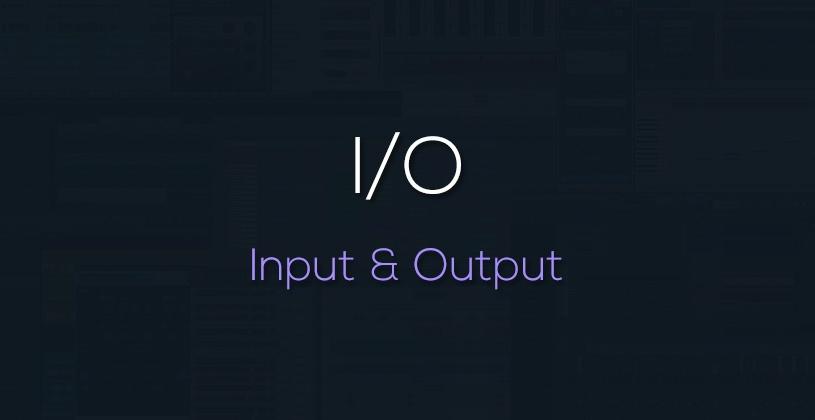 ورودی و خروجی در کارت صدا چیست