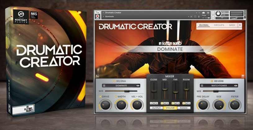 وی اس تی تحت کانتکت In Session Audio Drumatic Creator