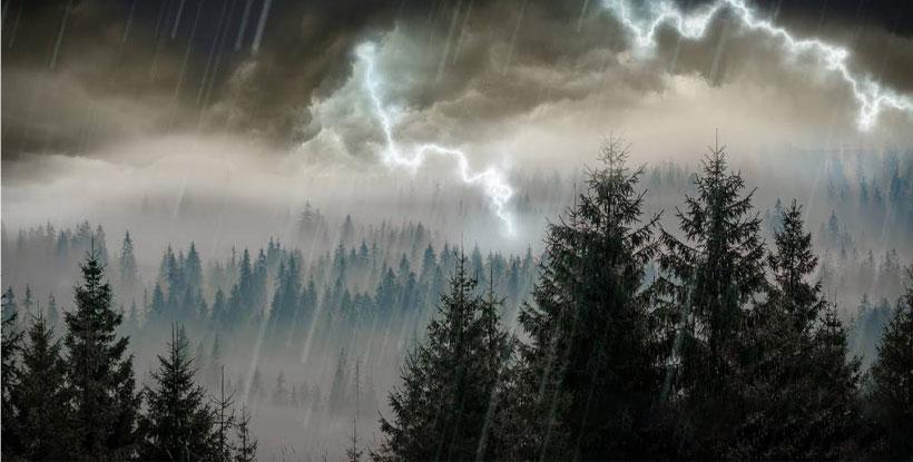 افکت صدا باران و رعد و برق