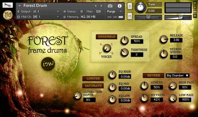دانلود وی اس تی Forest Frame SoundWorks تحت کانتکت