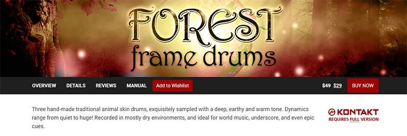قیمت دانلود وی اس تی Forest Frame SoundWorks