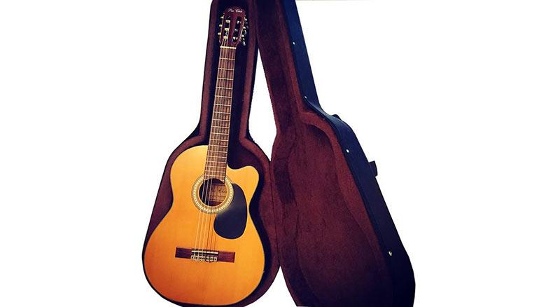 هارد کیس و گیتار کلاسیک