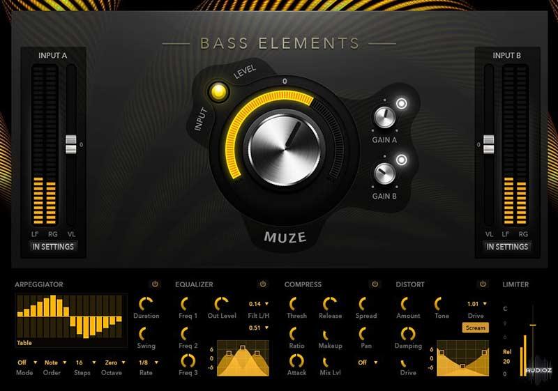 وی اس تی تحت کانتکت Muze Bass Light