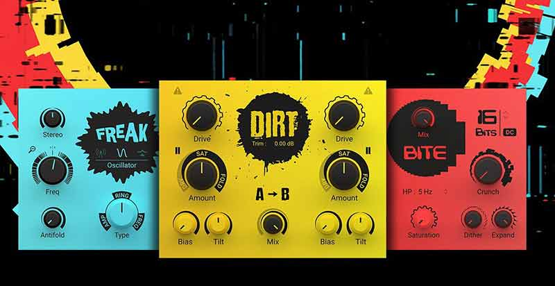 پلاگین Native Instruments Crush Pack