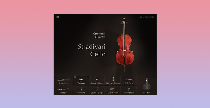 وی اس تی تحت کانتکت Native Instruments STRADIVARI CELLO