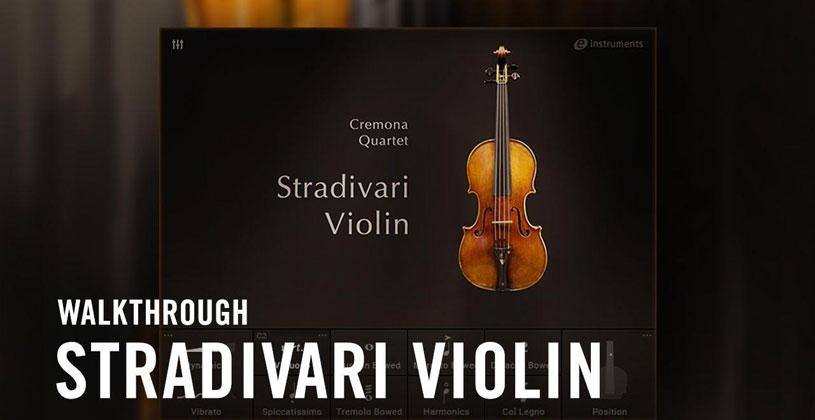 دانلود وی اس تی تحت کانتکت Native Instruments Stradivari Violin