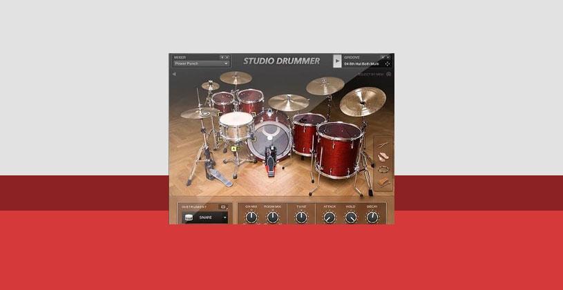 وی اس تی تحت کانتکت درام Native Instruments Studio Drummer