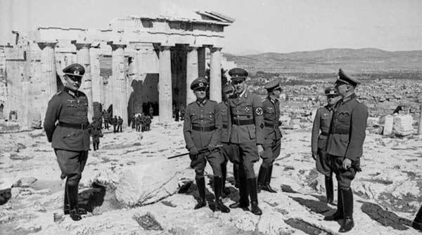 تصویر نازی ها در یونان